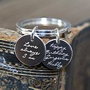 Engraved Personalised Keyring