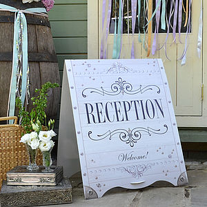 Dream Clean Wedding Sandwich Board