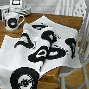 Retro Style Vinyl Tea Towel - view all sale items