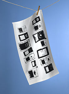 MP3 Playlist Design Tea Towel - kitchen linen