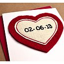 Special Date Personalised Anniversary Card