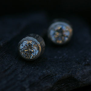 Solitaire Diamond Ear Studs