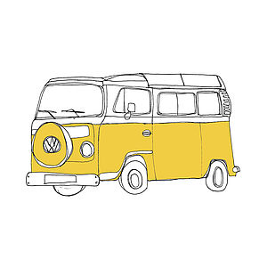Campervan Greetings Cards