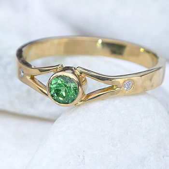of semiprecious product set onyx stackable lyst green stone rings anna gold normal in beck jewelry