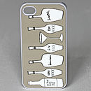 Drink And Dial Case For iPhone