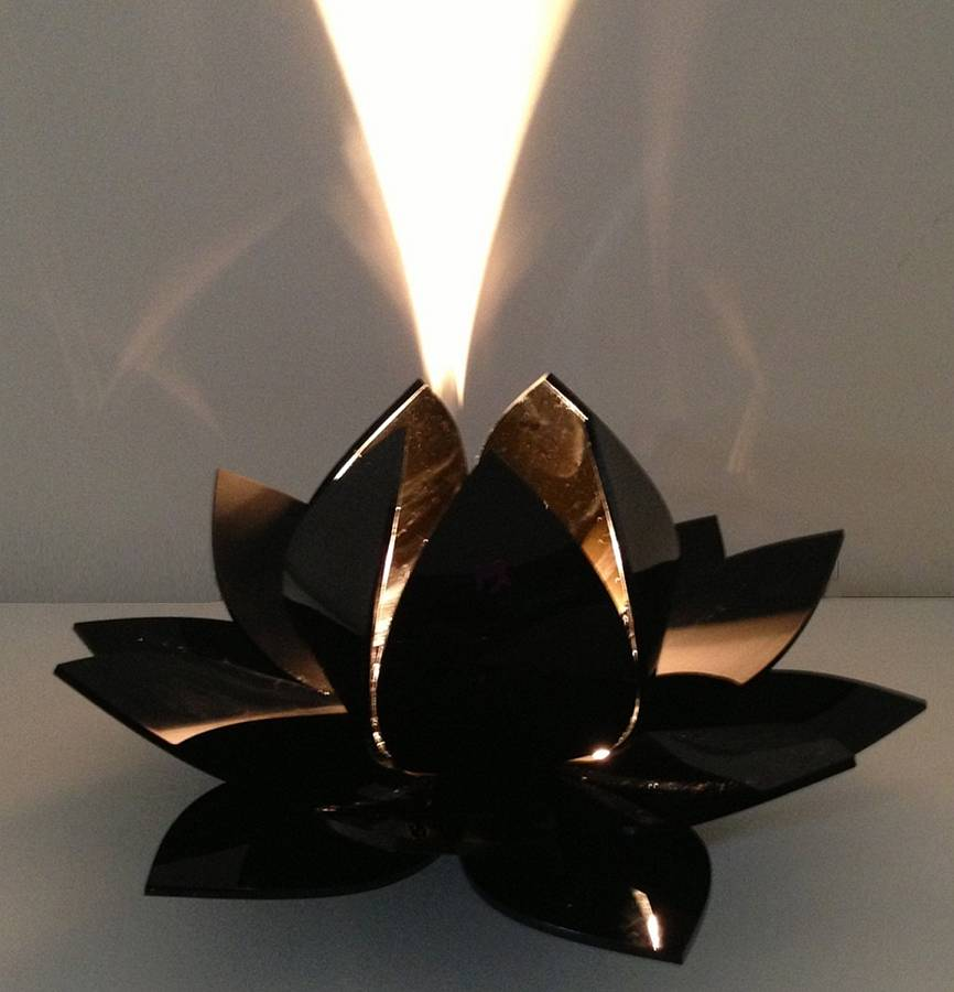 Lotus Flower Table Lamp Bedside Lamp By Kirsty Shaw