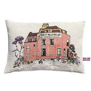 Woodlands Percy Dalton Cushion - patterned cushions
