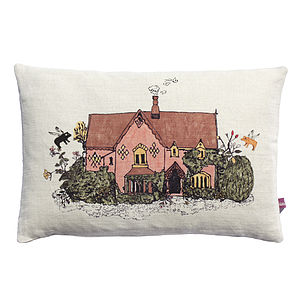 Woodlands Cottage Cushion - cushions