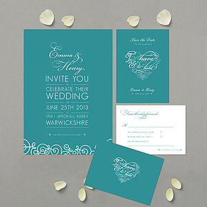 'To Have & To Hold' Wedding Stationery