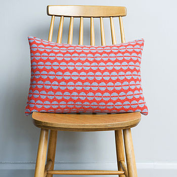Knitted Spot Cushion