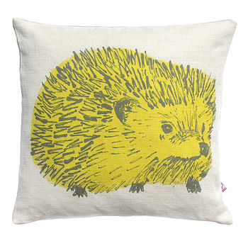 Woodlands Hedgehog Cushion