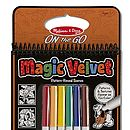 Magic Velvet Colouring Set
