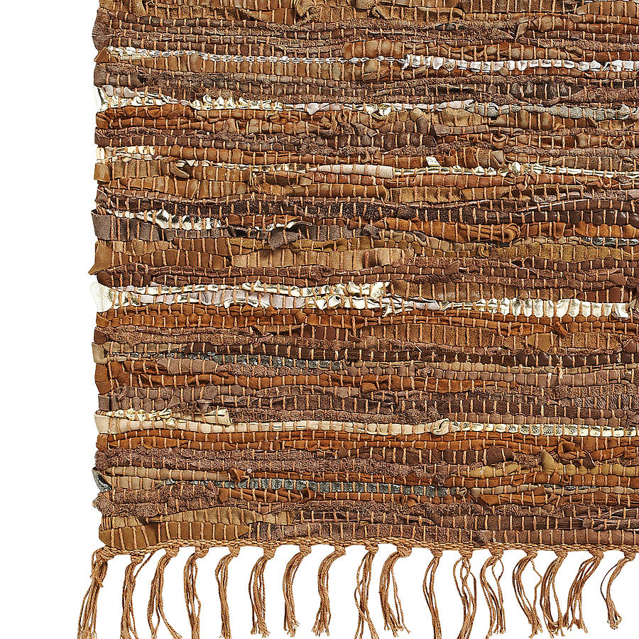 Leather Rag Rug By Bell Amp Blue Notonthehighstreet Com