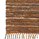 Leather Rag Rug