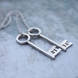 Key Necklace - birthday gifts