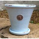 Kew Royal Botanic Gardens Tapered Pot With Saucer