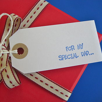 'For My Special Dad' Gift Tag