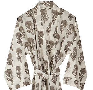 Aravalli Bath Robe - women's fashion