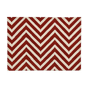 Set Of Two Delwara Chevron Placemats