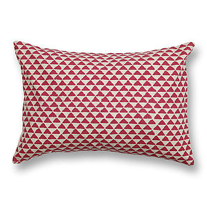 Juna Cotton Cushion Cover - bedroom