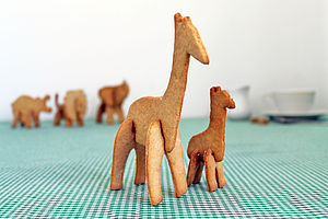 Bake Your Own 3 D Safari Animal - creative & baking gifts