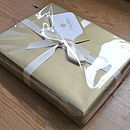 luxury gift wrap
