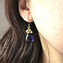 Woven Teardrop Earrings