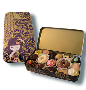 Handmade Chocolates In Kimmidoll Tin - food & drink gifts