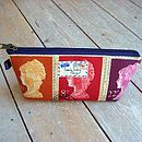 Postage Stamp Wash Bag Extra Small