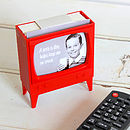Television Novelty Stationary Memo Holder
