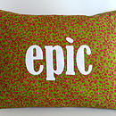 'Epic' Cushion