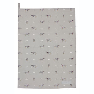 Terrier Tea Towel - kitchen accessories