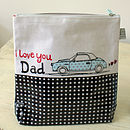 I Love You Dad Washbag