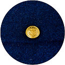 Vintage Harris Tweed and Brass Anchor Button