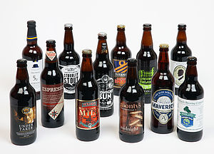 Case Of Stout And Dark Beers - wines, beers & spirits
