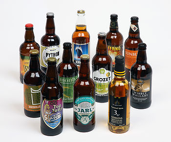 Case Of Golden And Pale Ales