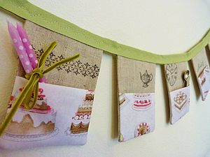 Baking Inspired Pocket Organiser - hanging decorations