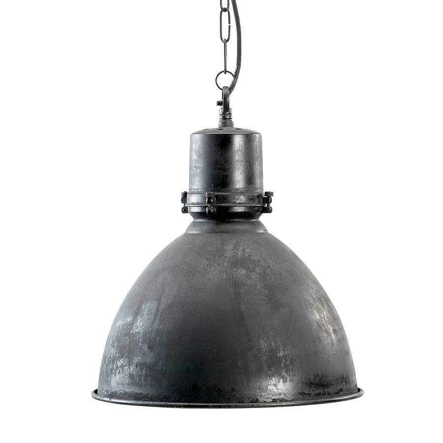 Industrial hanging lamp by bell blue - Lampe industrielle ikea ...