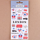 Alice Tait 'London' Stickers