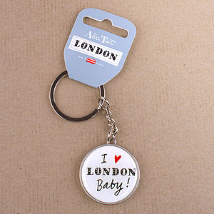 'I Love London' Keyring