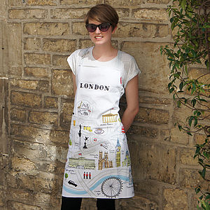 'Map Of London' Apron