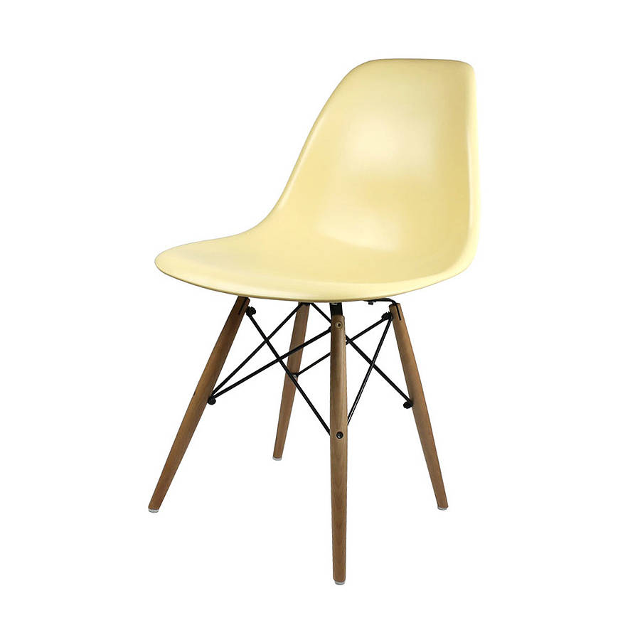 a eames style dining chair set six by ciel. Black Bedroom Furniture Sets. Home Design Ideas