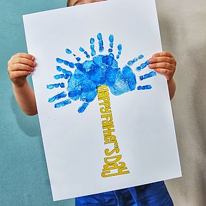 Father's Day Hand Print Tree