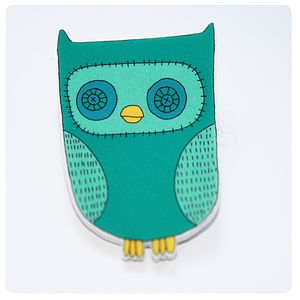 Owl Brooch - women's jewellery