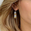 Me And You Watching The Sunset On The Beach Earrings
