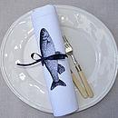 Fish Table Napkin