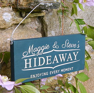 Personalised Engraved Wood Sign - signs