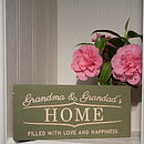 Personalised Engraved Wood Sign
