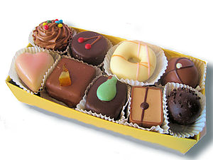 Box Of Belgian Chocolates Gift