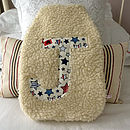 Boys Printed Letter Hot Water Bottle